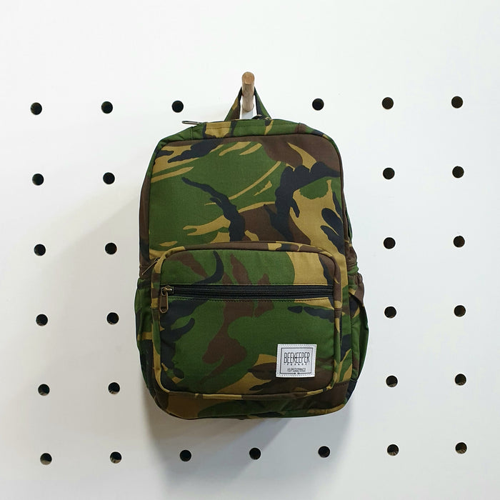 [SALE 25% OFF] The Camouflage Mini-Royal BeeKeeper Backpack