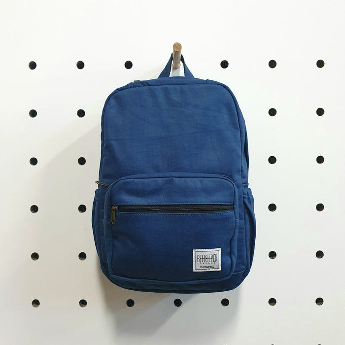 The Retro Blue Denim Mini-Royal BeeKeeper Backpack (Masterpiece Range)