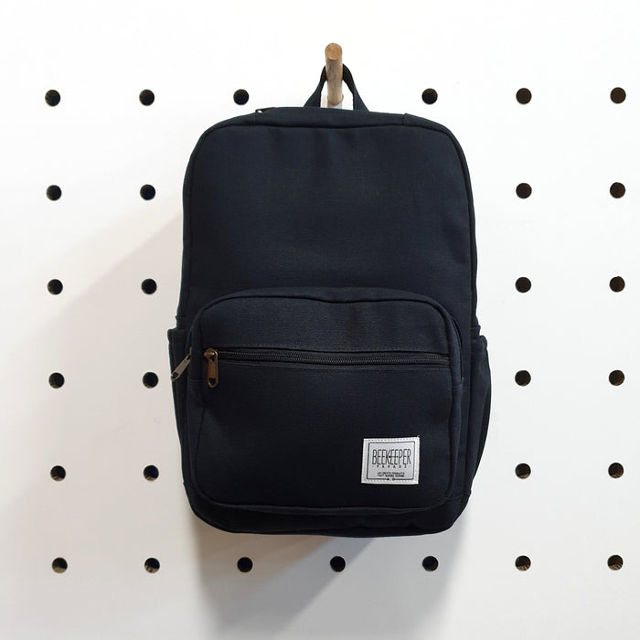 The Black Canvass Mini-Royal BeeKeeper Backpack