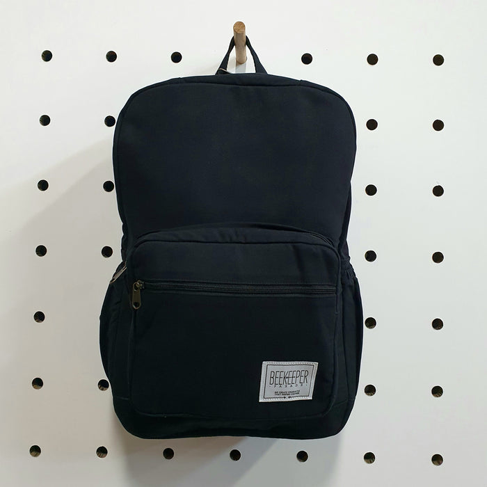 The Black Canvass Royal BeeKeeper Backpack