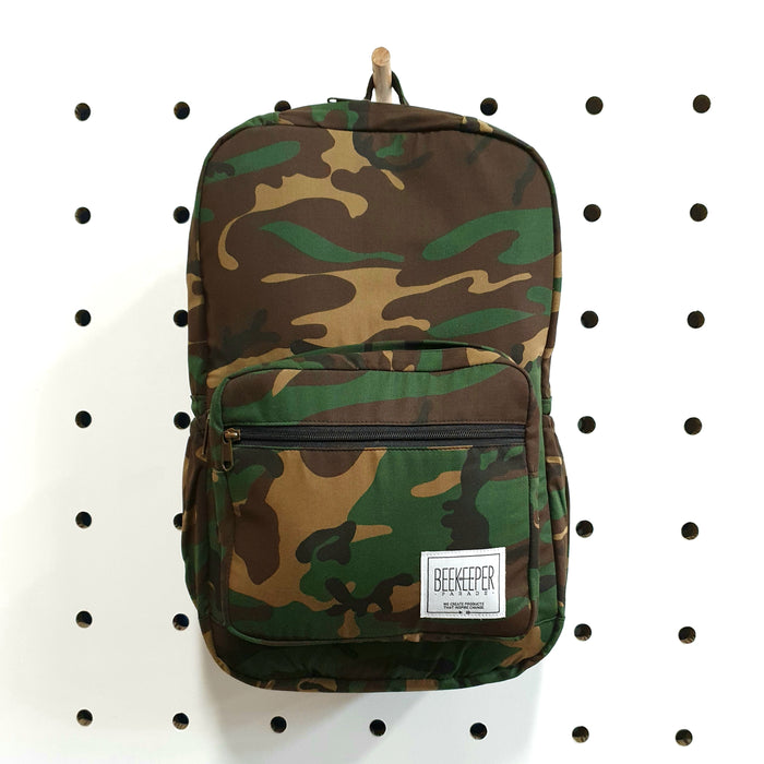 [SALE 30% OFF] The Camouflage Royal BeeKeeper Backpack