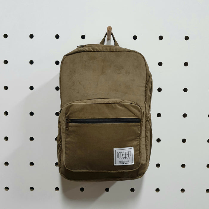The Panda Peanut Corduroy Royal BeeKeeper Backpack (Masterpiece Range)