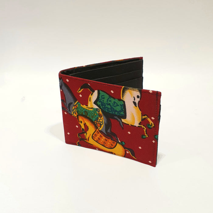 The Red Carousel Horse BeeKeeper Wallet