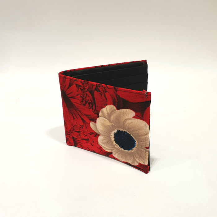 The Snow Flower Red BeeKeeper Wallet