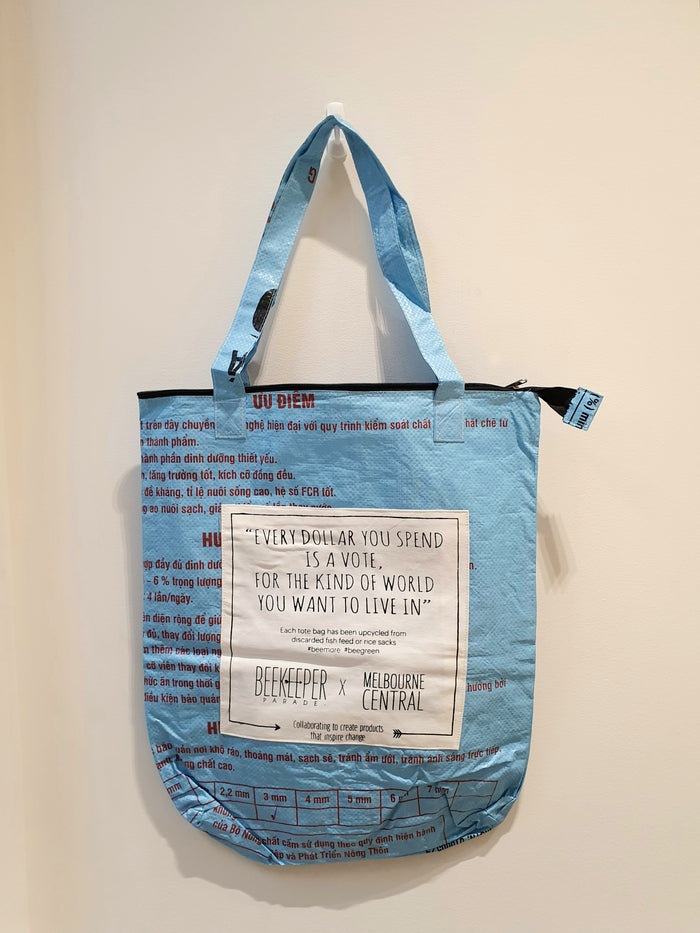 The Multi-Purpose BeeKeeper Sack  Bag (Light Blue)
