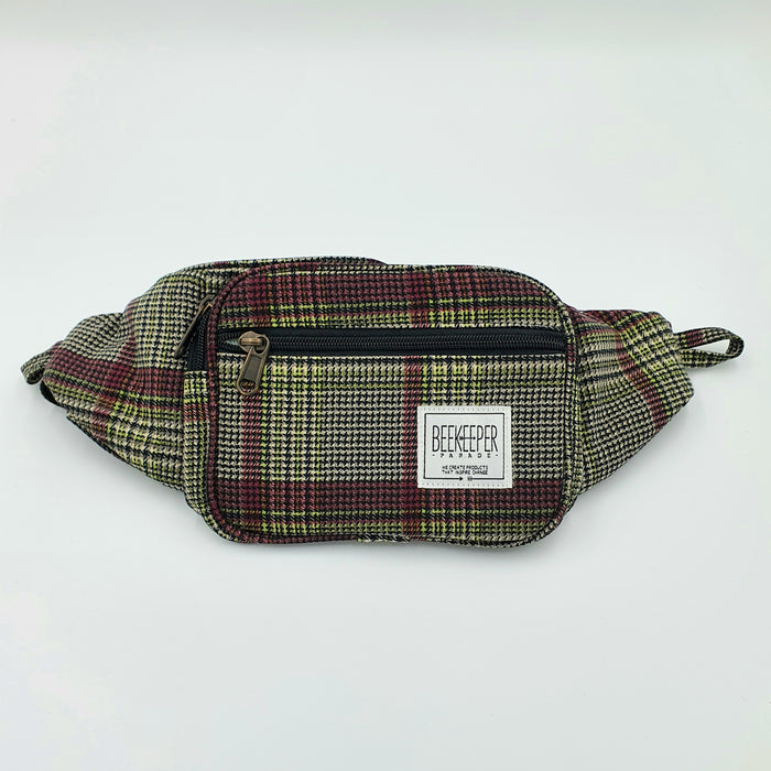 The Tartan Purple BeeKeeper Bumbag