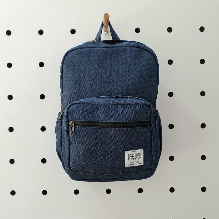 The Blue Denim Mini-Royal BeeKeeper Backpack