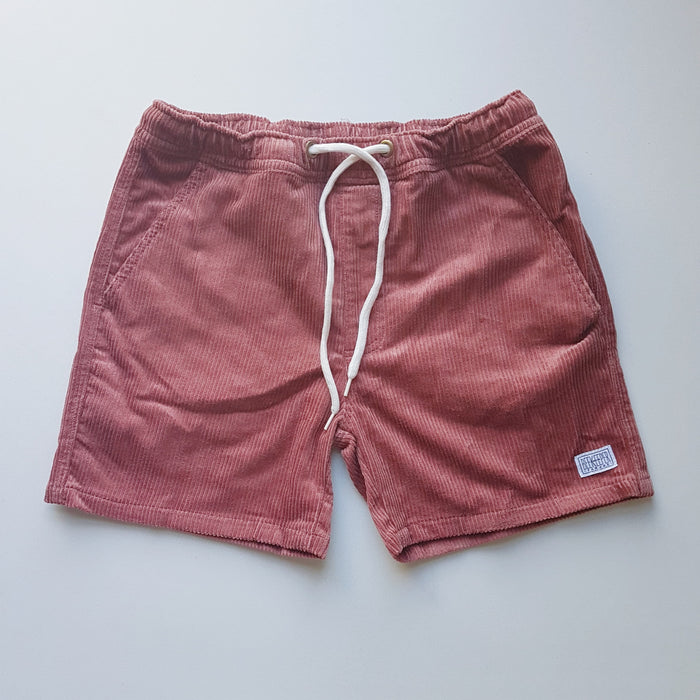 The Rose Quartz Corduroy BeeKeeper Shorts