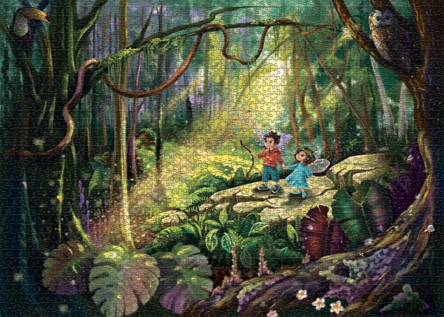 BOY & BEE 1000 PIECE JIGSAW PUZZLE