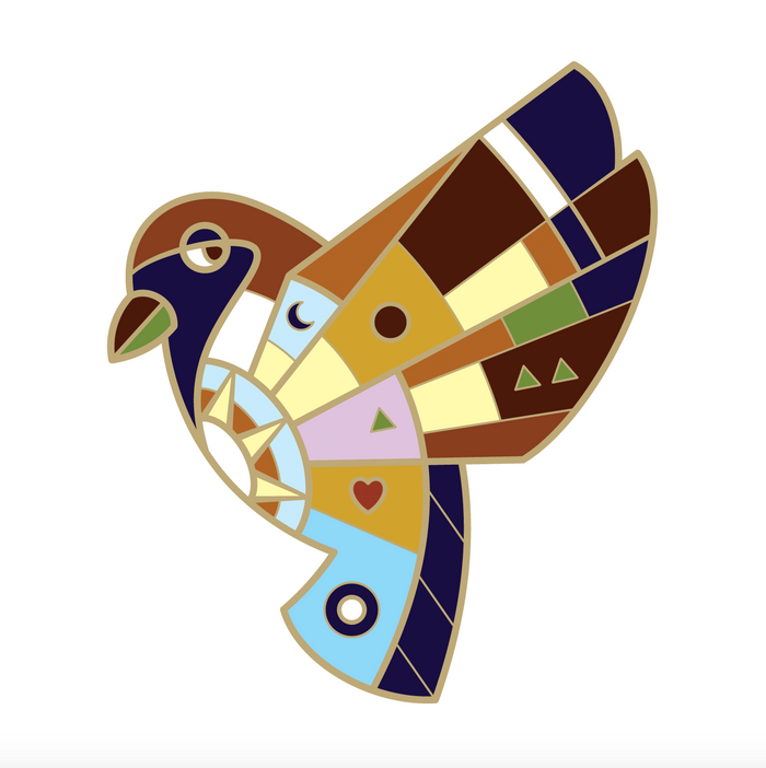 [PRE-SALE] BeeKeeper Parade's Magical Forest Sparrow Pin
