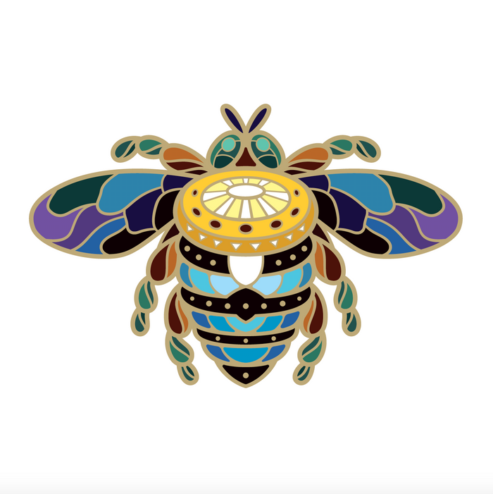 [EARLY BIRD PRICE] BeeKeeper Parade's Magical Australian Sun Bee Pin