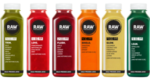 Deep detox cleanse diet plan juices for your body - Raw Pressery