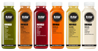 Detox Cleanse Cold Pressed Juices - Raw Pressery