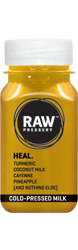 Heal: Cold Pressed Milk having ingredinets Turmeric & Coconut