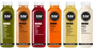 Light detox cleanse diet plan juices for your body - Raw Pressery