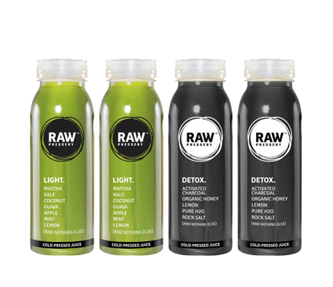 Healthy Raw Pressed Green & Clean Digestive Juice Bundles - Raw Pressery