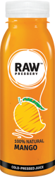Buy Cold Pressed Fruit juice having 100% Natural Mango Juice