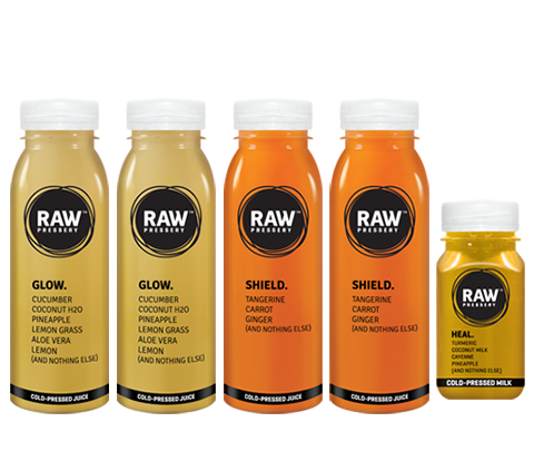 Healthy Raw Pressed Protect Body Juice Bundles - Raw Pressery