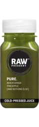 Pure: Buy Cold Pressed Wheatgrass Juice Online