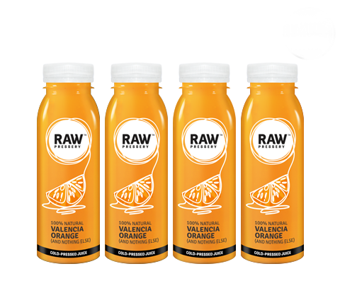 Healthy Raw Pressed Valencia Orange Juice Bundles - Raw Pressery