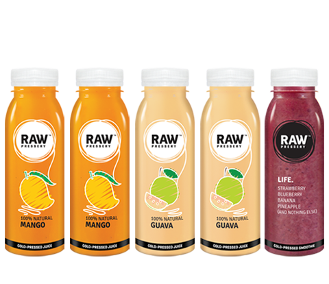 Healthy Raw Pressed Tropical Juice Bundles - Raw Pressery
