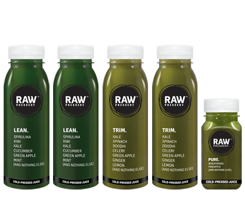Healthy Raw Pressed Greem Juice Bundles - Raw Pressery