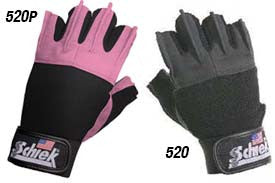 Women's Pink Gel Lifting Gloves