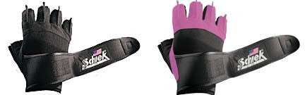 Schiek Platinum Series Lifting Gloves with Gel Padding