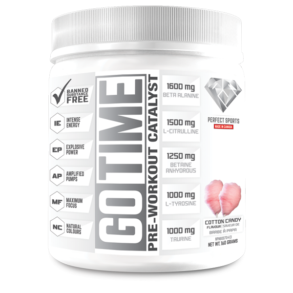 Go Time Preworkout- 160 grams