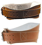 "4 3/4"" Leather Padded Contour Belt- Model L2004"
