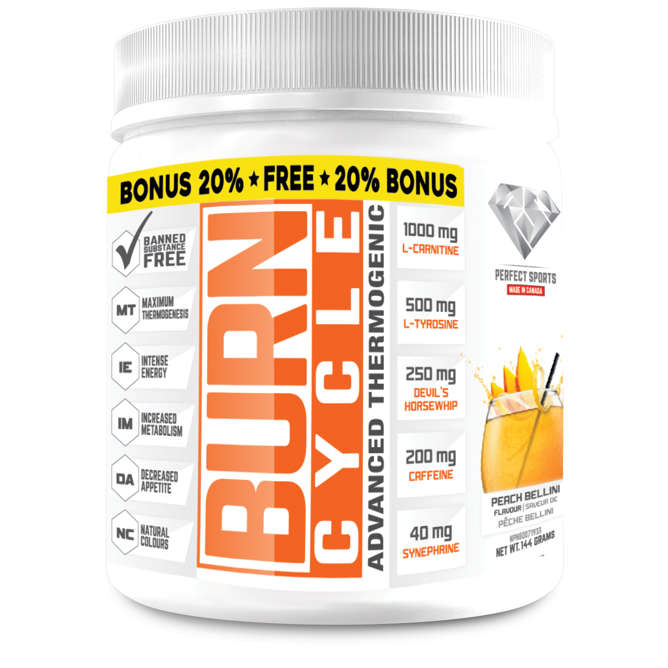 Burn Cycle Advanced Thermogenic- 36 servings