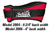 "6"" Weightlifting Belt- Model 2006"