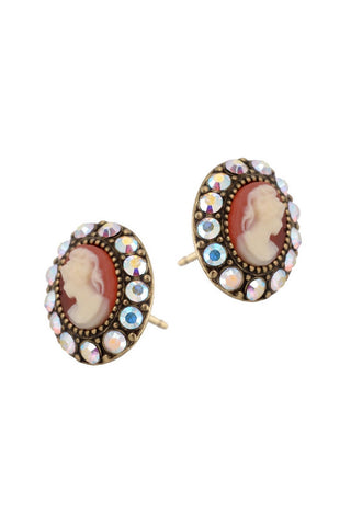 Cameo Post Earrings 12020