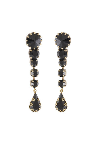 Crystal Post Earrings 15608