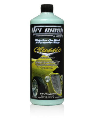 32oz DRI WASH 'n GUARD® Classic Waterless Car Wash (Damaged)