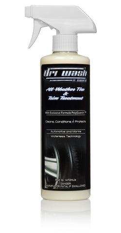 16oz DRI WASH All Weather Tire and Trim (Yellowed Bottle)
