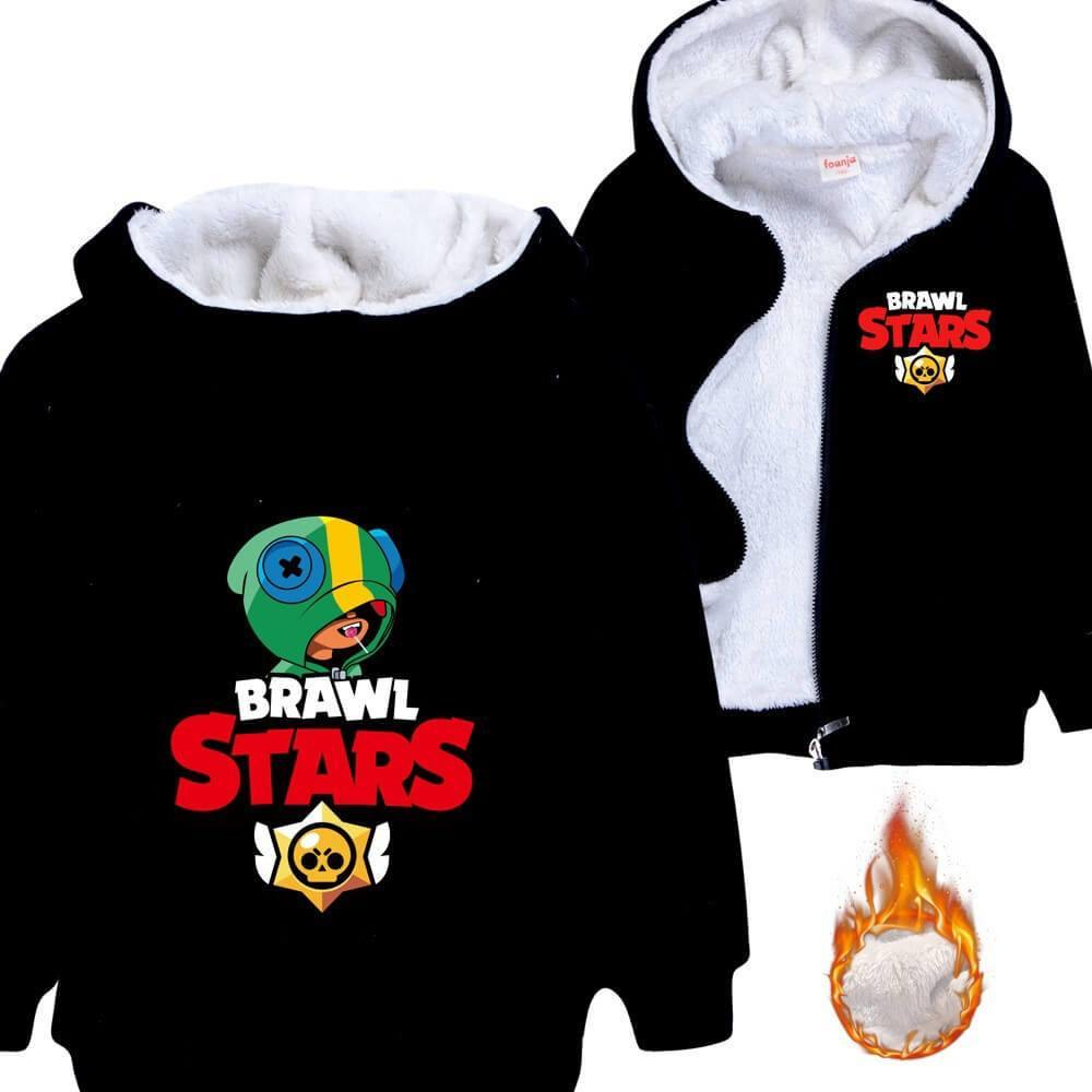 Kids Hoodie Leon Dragon inspired by Brawl Stars Game