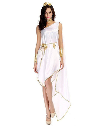 Athena Greek Goddess Adult Womens Halloween Costume - FADCOVER