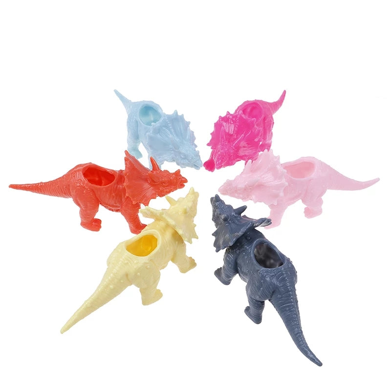 Pretty Pastel Dinosaur Planters Birthday Party Table Decorations Party Favors Girl Dinosaurs Pink Yellow Baby Blue Girls Boys DIY Fun