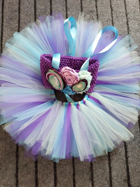 Little Mermaid First Birthday Tutu 3pc Set Skirt Top Headband Baby Girl Princess Photo Prop Girl's Boutique 1st Party