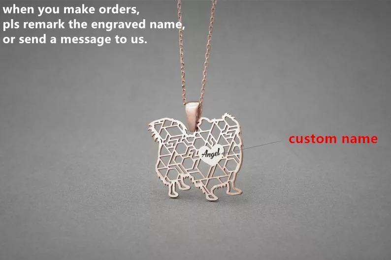 Personalized Dog Breed Women's Mother's Day Necklace Dog Mom Mommy