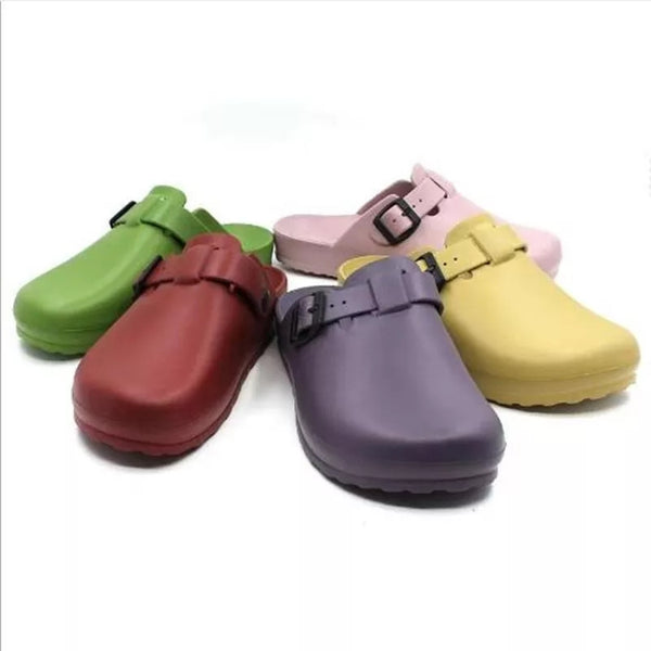 Medical Surgical Chef Food Service Eva Clogs Women's Backless Mule Shoes Slip On Nurse Vet Cook Hospitality Workers Unisex Men Footwear Shoes