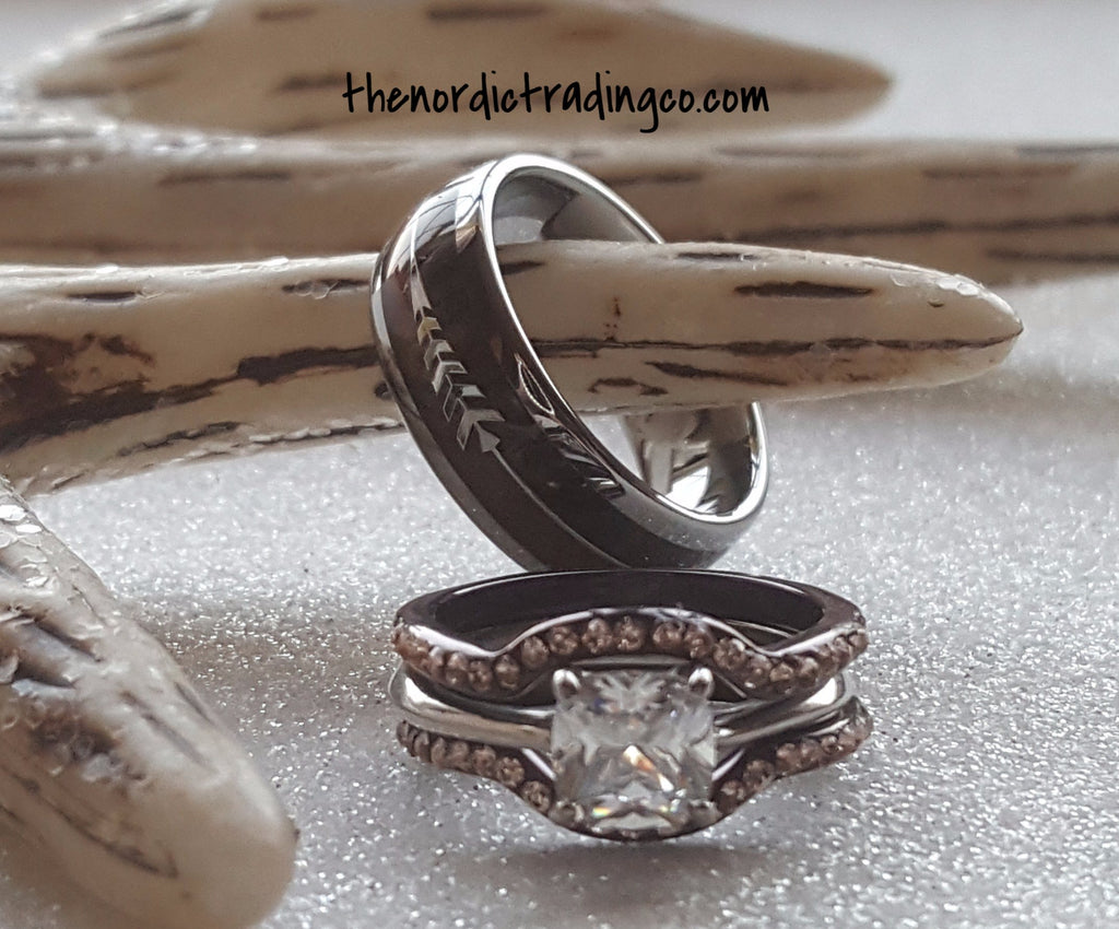 antler item animal fine statement from wedding in rings fashion bands rudolph indian ring boho stag jewelry deer reindeer woman horn kinitial love aliexpress gift