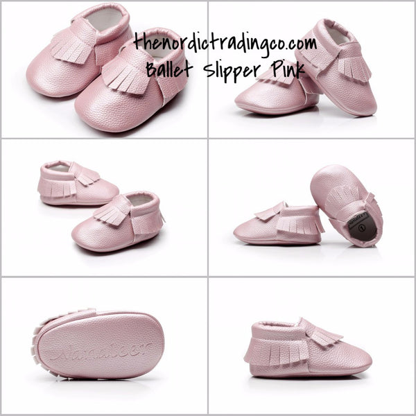 Infant Girl Pearl Pink Fringe Soft Faux Leather Crib Shoe Moccasins Mocs Pre Walker Boho Baby Shoes Baby Shower Gift Ideas 0/6mo