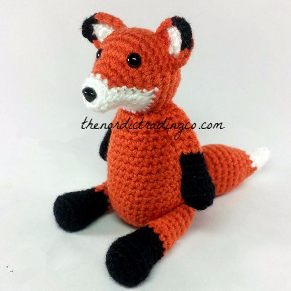 Newborn Baby Photo Prop Set FOX Handmade Crochet Baby Shower Gifts Halloween Costume Boy Girl Heirloom Keepsake First Photography Woodland Stuffed Animals