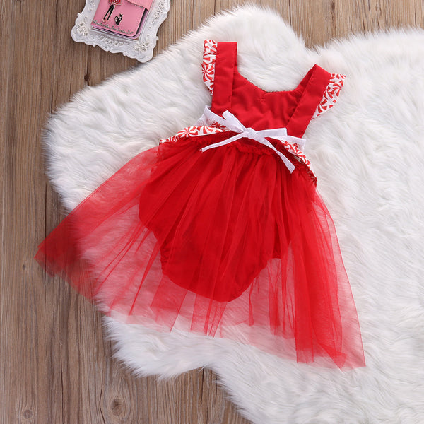 Peppermint Baby Girls Christmas Dress Photo Prop Capture Her 1st Picture Santa's Lap Ships Now from USA Baby Shower Gift Gingerbread Man Girl Clothes