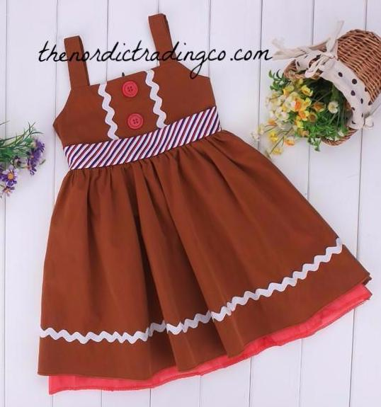 Toddler Christmas Outfit.Gingerbread Man Dress Girl S Toddler Christmas Dress Girl 3t 4t Dresses Santa Claus Photo Shoot Prop Usa