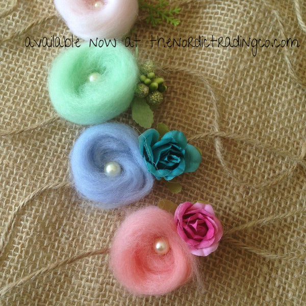 Handmade Newborn & Up Spun Mohair Baby Bird Nests Headband 7 Colors Infant Toddler Kids Hair Accessories Heirloom Quality