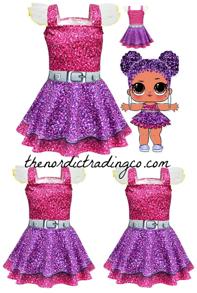 Girls Dresses L O L Surprise Doll Party Dress Girl S 5 Styles