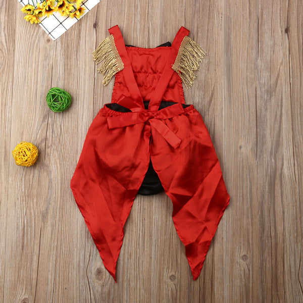 Circus Ring Master One Year First Birthday Party Sequin Romper Costume Girl Tutu Sets Greatest Showman Girls Baby Toddler Kids
